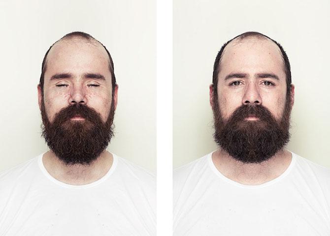 Simetrie si frumusete: Portrete oglindite de Alex John Beck - Poza 10