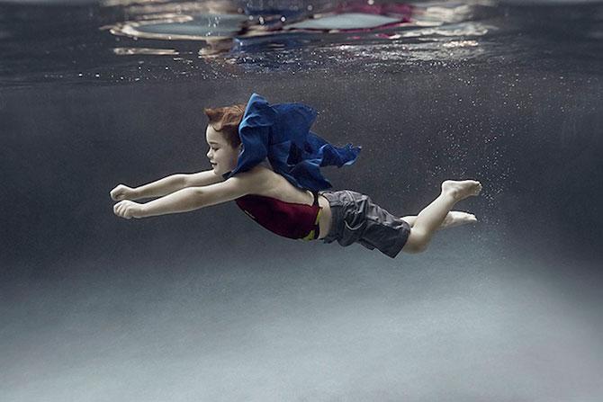 Portrete subacvatice de copii, de Alix Martinez - Poza 1