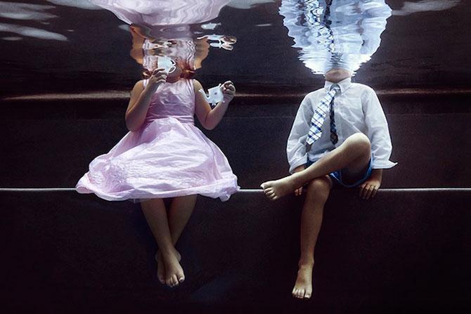 Portrete subacvatice de copii, de Alix Martinez - Poza 2