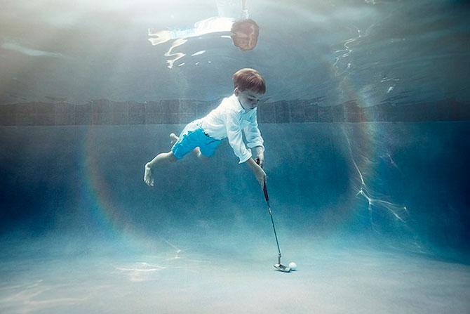 Portrete subacvatice de copii, de Alix Martinez - Poza 3