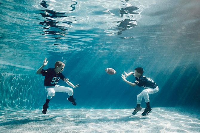Portrete subacvatice de copii, de Alix Martinez - Poza 5