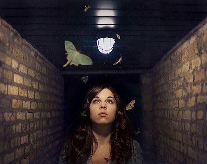 Autoportretele suprarealiste ale Ameliei Fletcher - Poza 4