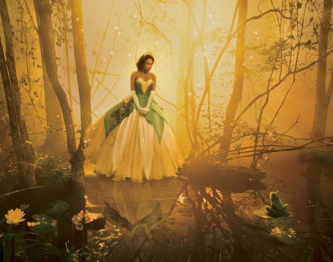 Vedete in rol de personaje Disney, de Annie Leibovitz - Poza 2
