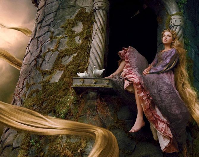 Vedete in rol de personaje Disney, de Annie Leibovitz - Poza 3
