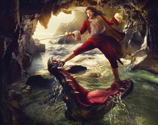Vedete in rol de personaje Disney, de Annie Leibovitz - Poza 5