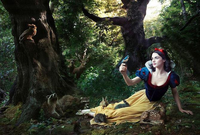 Vedete in rol de personaje Disney, de Annie Leibovitz - Poza 8