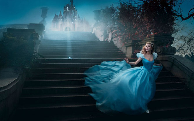 Vedete in rol de personaje Disney, de Annie Leibovitz - Poza 9