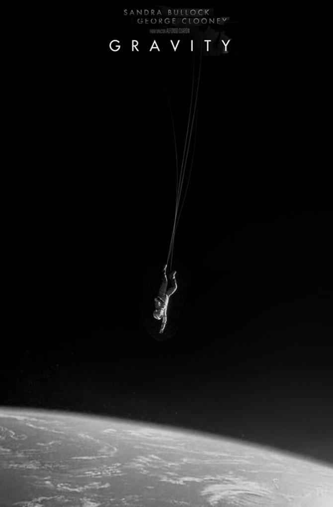Postere inedite pentru filmul Gravity - Poza 2