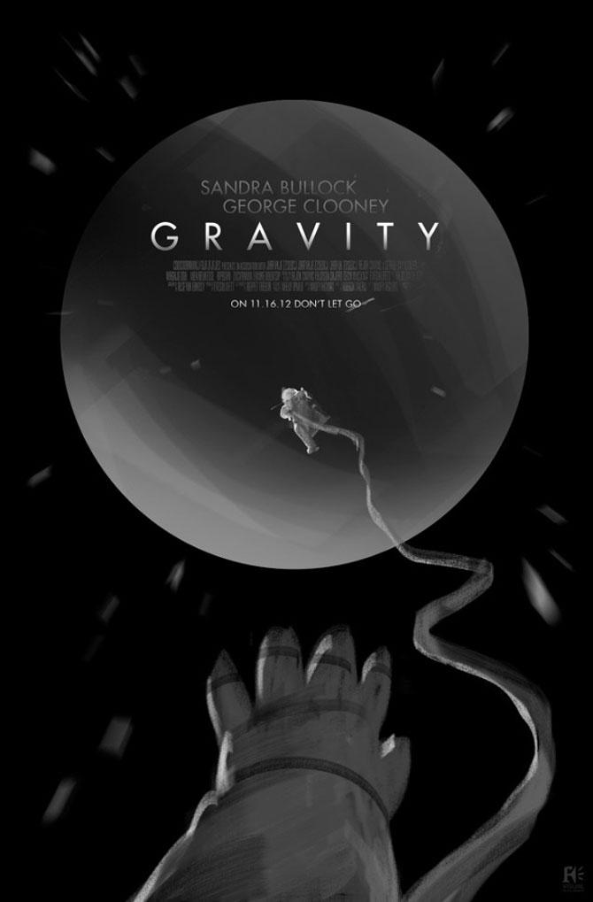 Postere inedite pentru filmul Gravity - Poza 3
