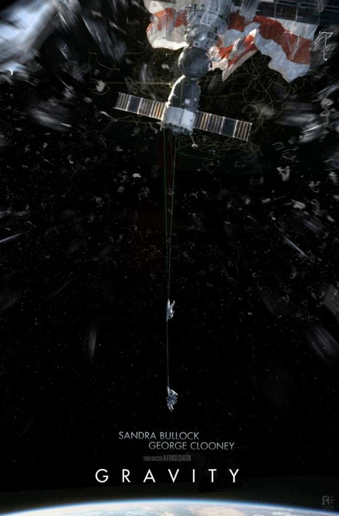 Postere inedite pentru filmul Gravity - Poza 4