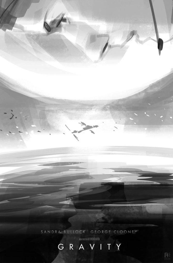 Postere inedite pentru filmul Gravity - Poza 5
