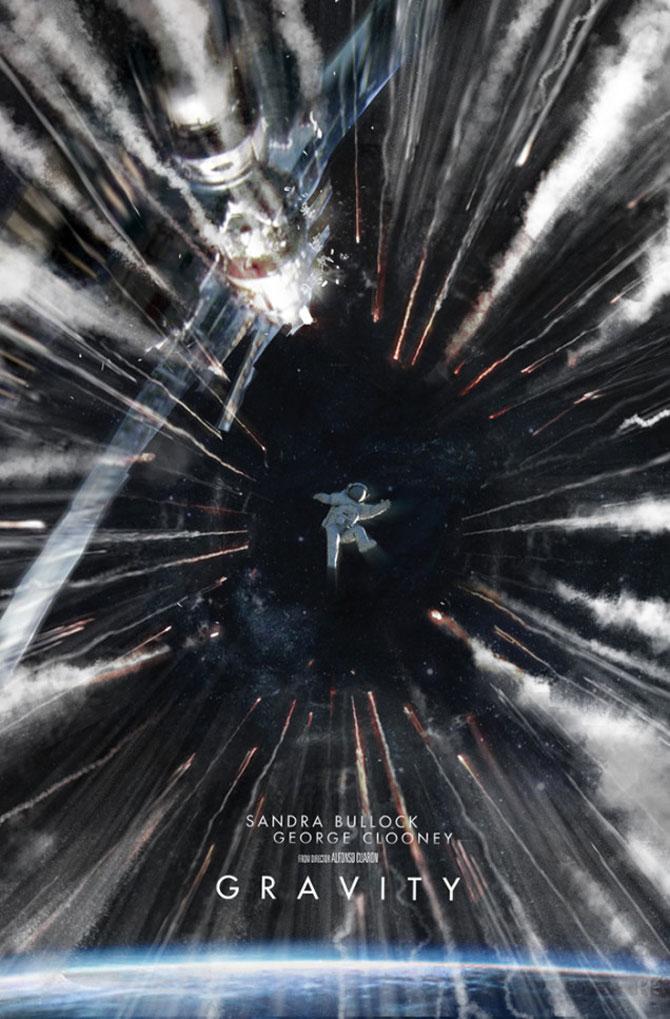 Postere inedite pentru filmul Gravity - Poza 6
