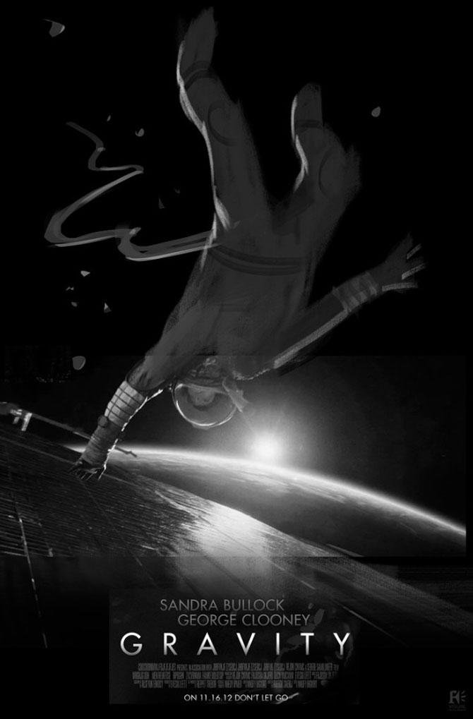 Postere inedite pentru filmul Gravity - Poza 9