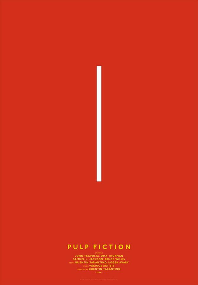 Postere minimaliste pentru filme clasice - Poza 6