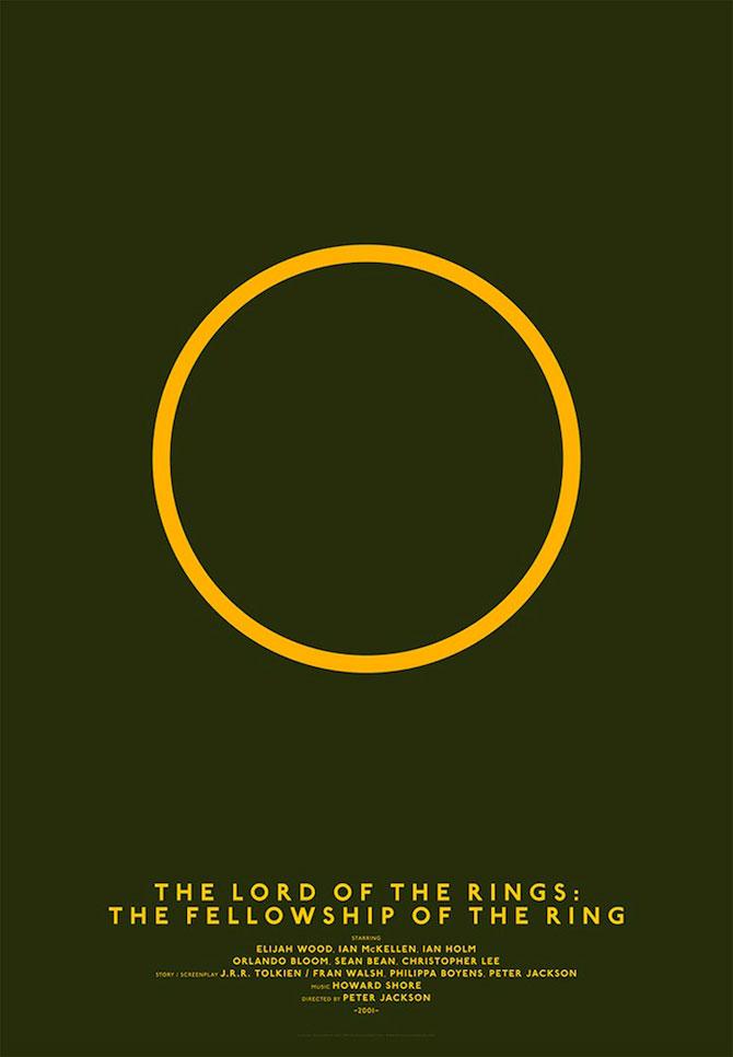 Postere minimaliste pentru filme clasice - Poza 9