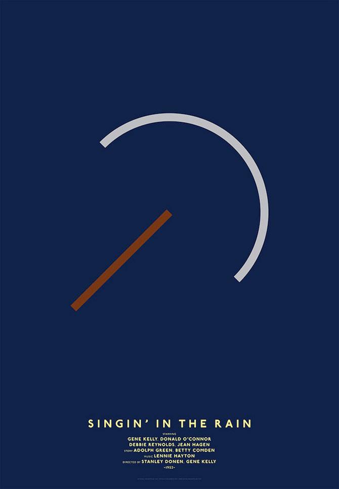 Postere minimaliste pentru filme clasice - Poza 10