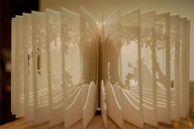 Carti sculptate - Povesti la 360 de grade - Poza 1