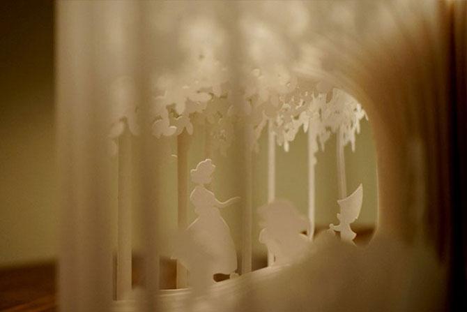 Carti sculptate - Povesti la 360 de grade - Poza 2
