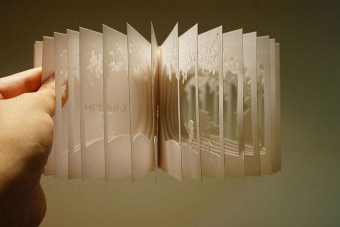 Carti sculptate - Povesti la 360 de grade - Poza 3