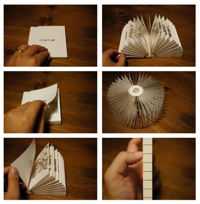 Carti sculptate - Povesti la 360 de grade - Poza 5