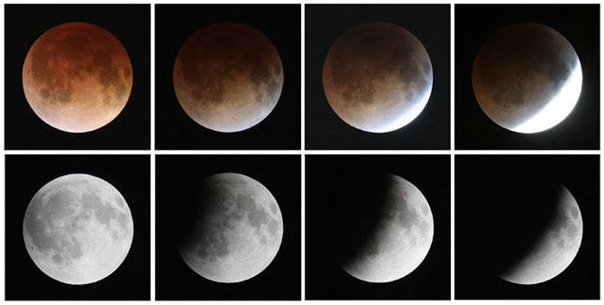 Cele mai bune fotografii cu Luna Sangerie - Poza 3