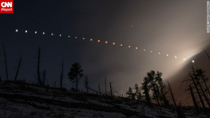 Cele mai bune fotografii cu Luna Sangerie - Poza 6