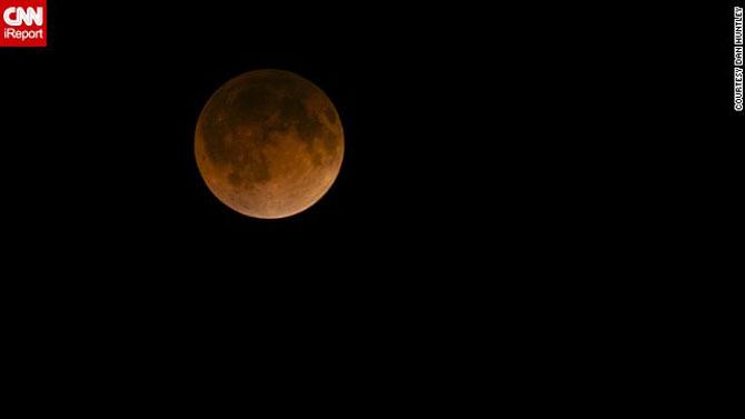 Cele mai bune fotografii cu Luna Sangerie - Poza 7