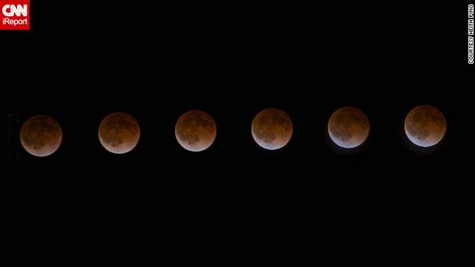 Cele mai bune fotografii cu Luna Sangerie - Poza 8