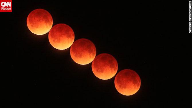 Cele mai bune fotografii cu Luna Sangerie - Poza 9