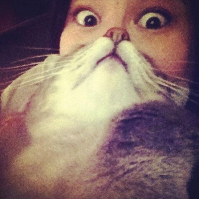 Pe jumatate om, pe jumatate pisica - Poza 4