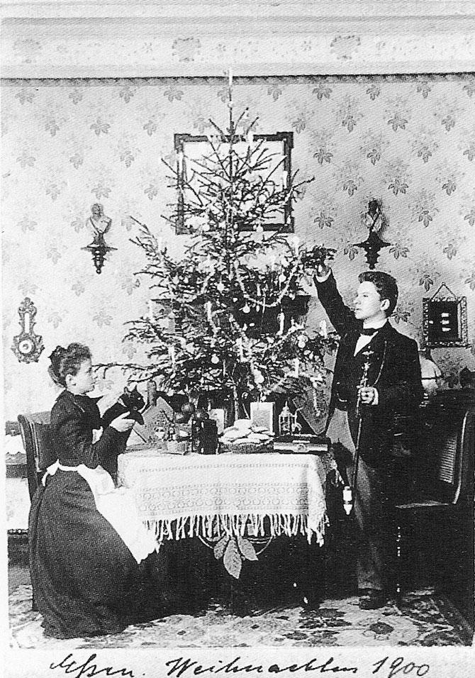 40 de Craciunuri in fotografii cu Anna si Richard Wagner - Poza 1