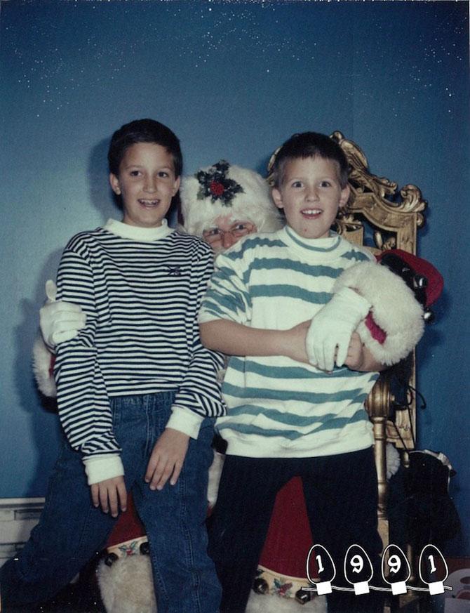 34 de ani de poze cu Mos Craciun - Poza 6