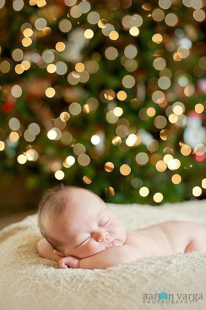 13 super poze cu bebelusi, de primul lor Craciun - Poza 5