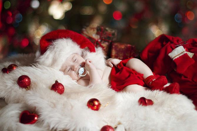 13 super poze cu bebelusi, de primul lor Craciun - Poza 13