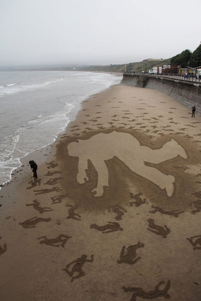 9.000 de siluete in nisip pentru Ziua Z - Poza 7