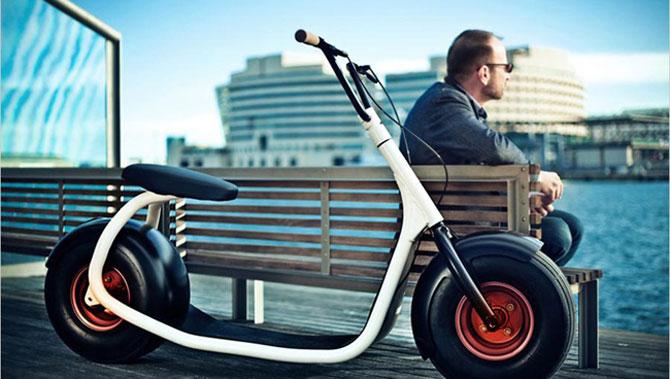 Scuterul Scrooser va revolutiona transportul urban - Poza 3