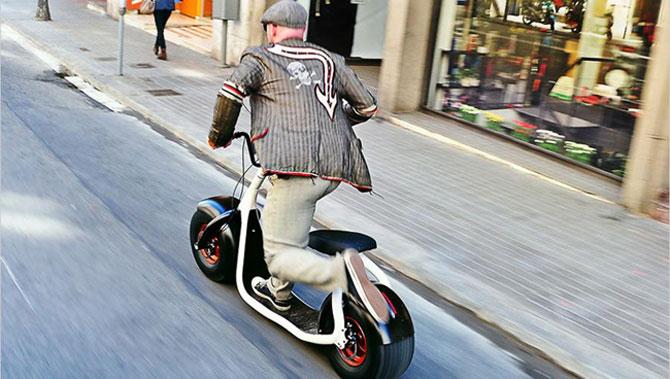 Scuterul Scrooser va revolutiona transportul urban - Poza 4