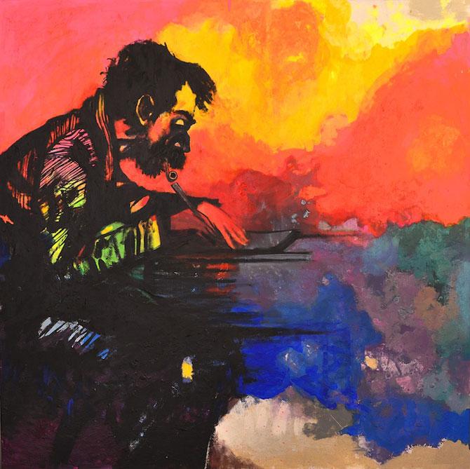 Marea metaforic multicolora, pictata de Joshua Petker - Poza 4