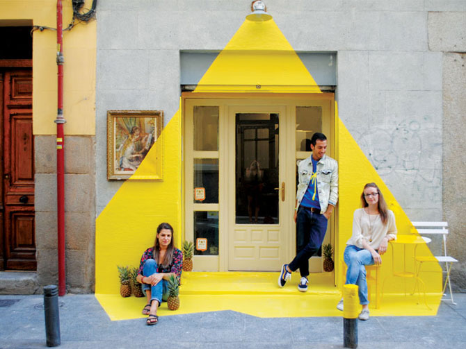 Un restaurant din Madrid atrage atentia - Poza 1