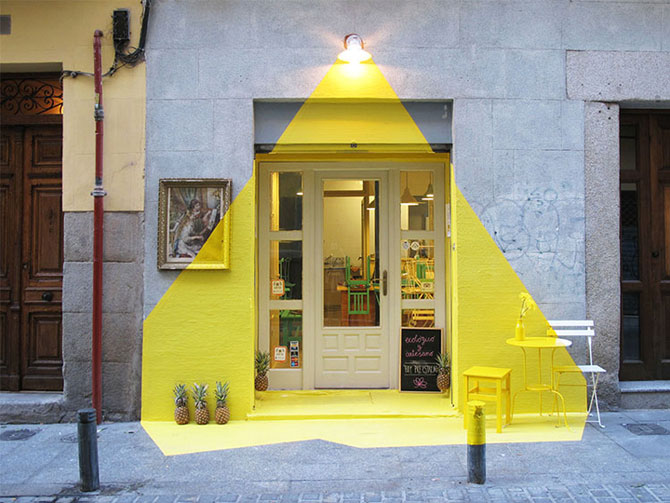Un restaurant din Madrid atrage atentia - Poza 2