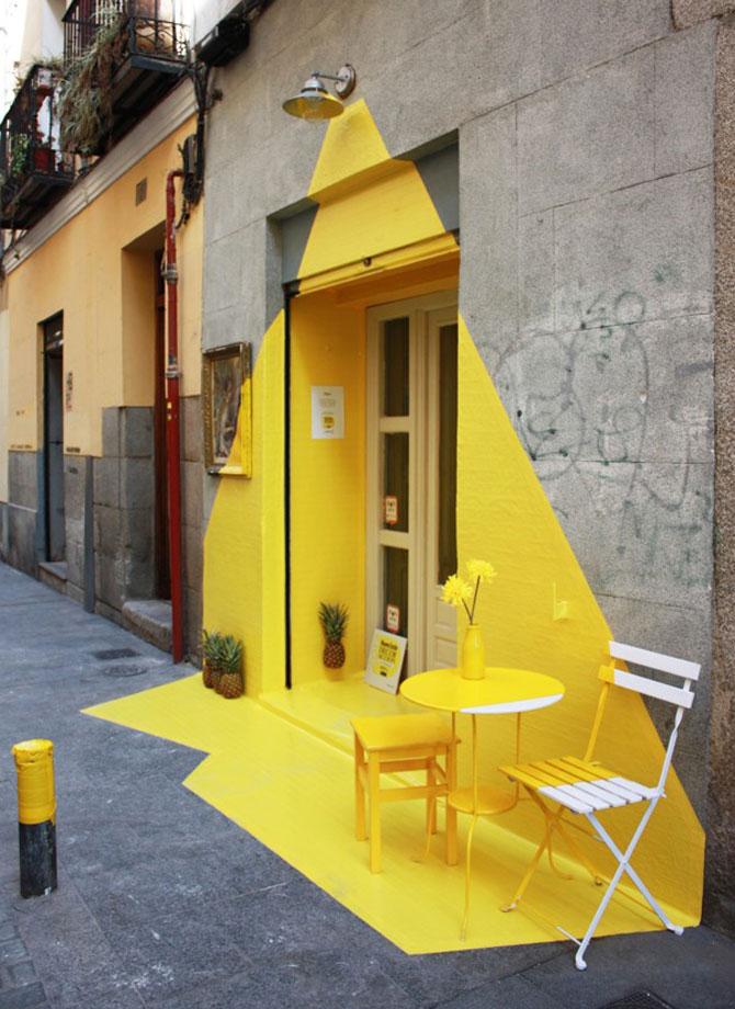 Un restaurant din Madrid atrage atentia - Poza 3