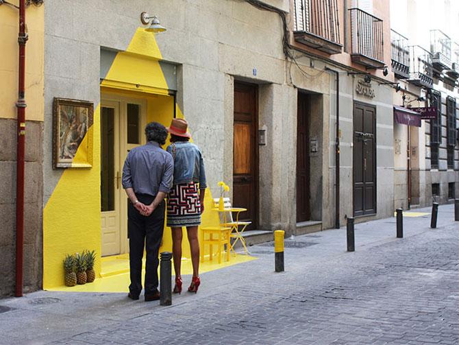 Un restaurant din Madrid atrage atentia - Poza 4