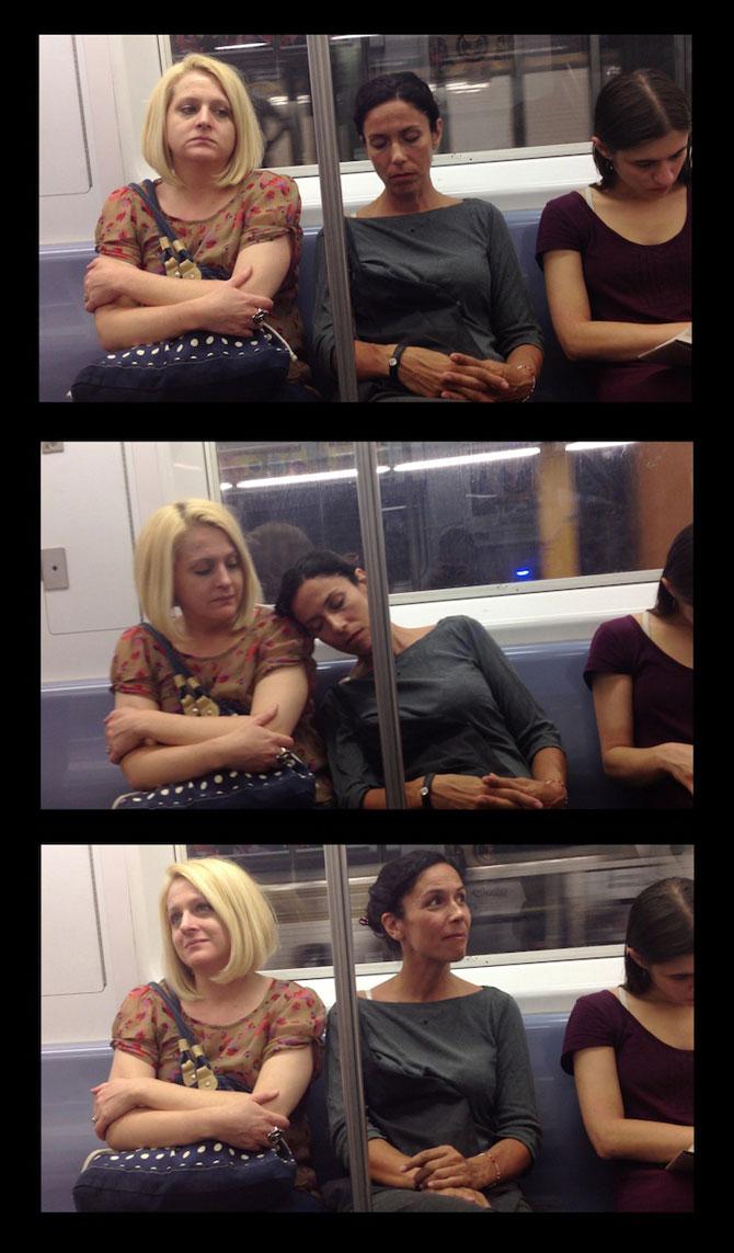 Cum reactionezi daca adoarme cineva pe tine in metrou? - Poza 2