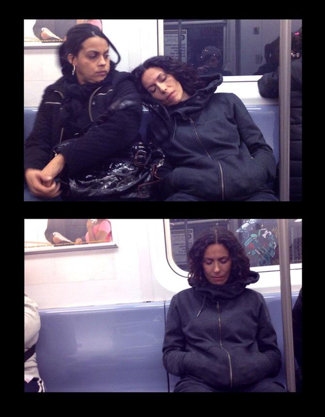 Cum reactionezi daca adoarme cineva pe tine in metrou? - Poza 3