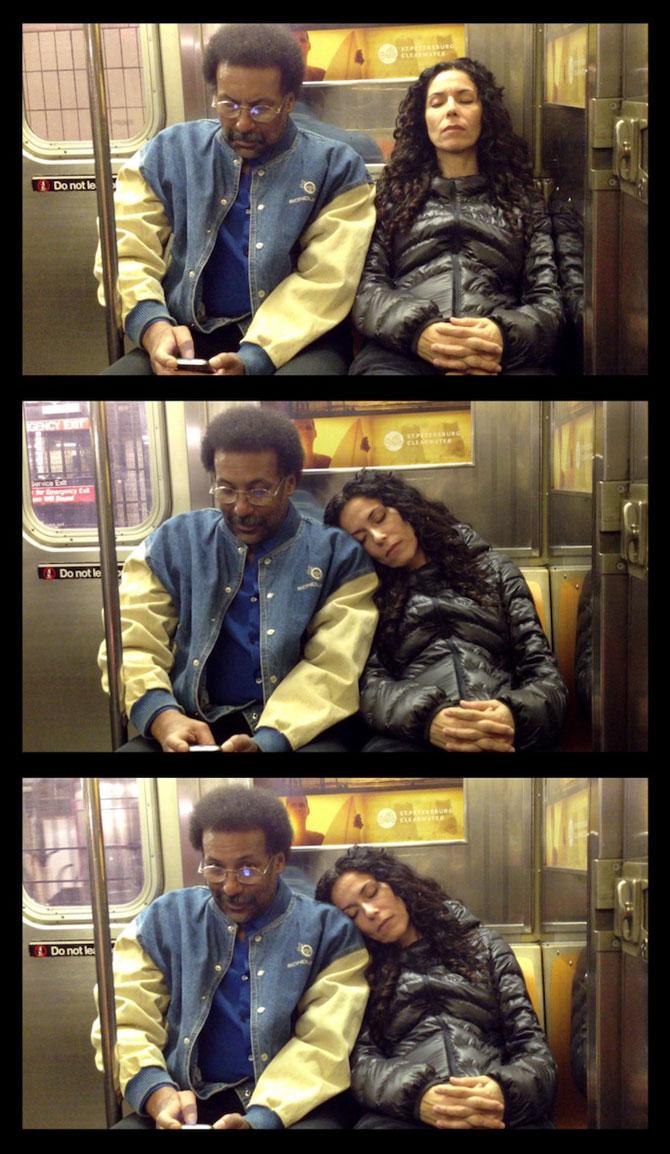 Cum reactionezi daca adoarme cineva pe tine in metrou? - Poza 5