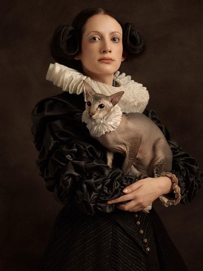 Rembrandt reinterpretat in fotografii de Sacha Goldberger - Poza 2