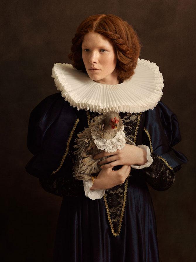 Rembrandt reinterpretat in fotografii de Sacha Goldberger - Poza 4