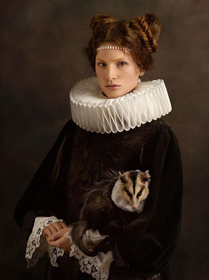Rembrandt reinterpretat in fotografii de Sacha Goldberger - Poza 5