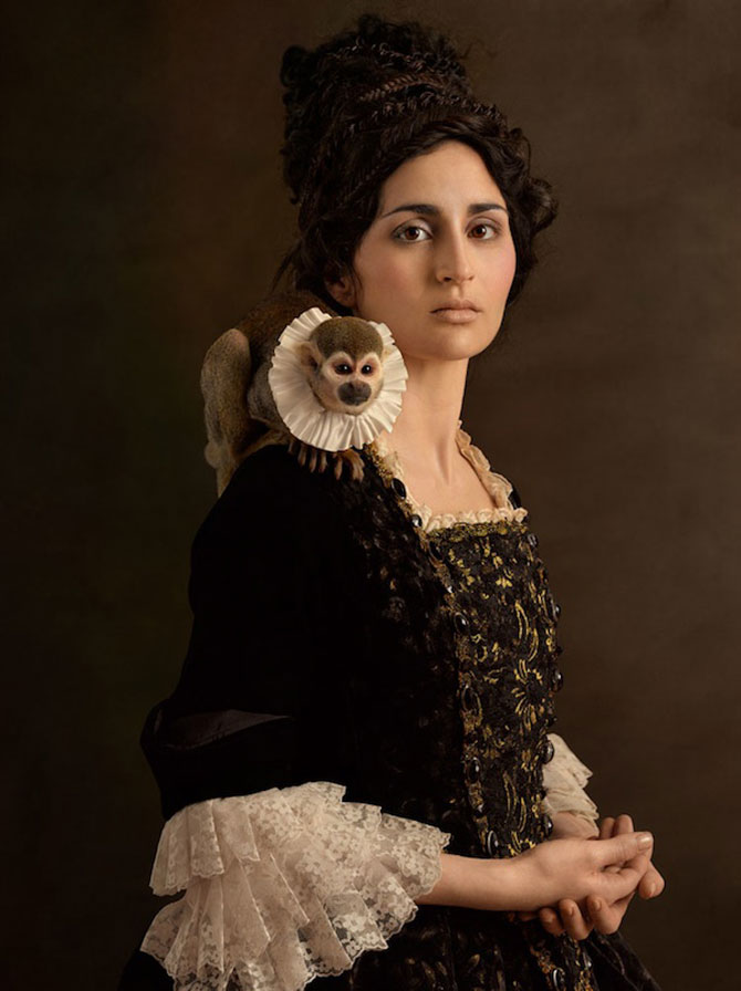 Rembrandt reinterpretat in fotografii de Sacha Goldberger - Poza 6