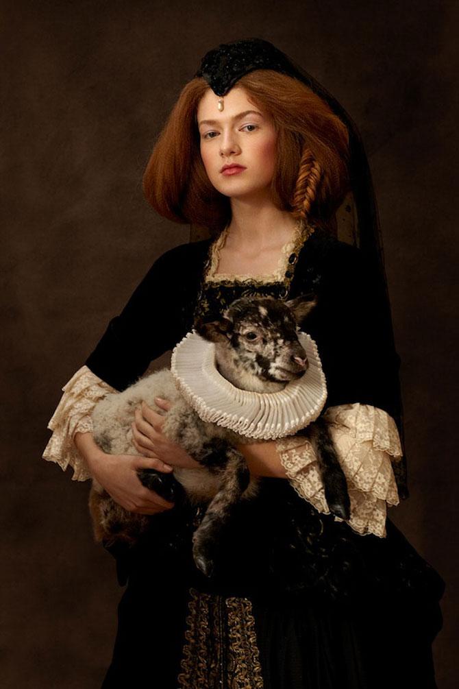 Rembrandt reinterpretat in fotografii de Sacha Goldberger - Poza 7